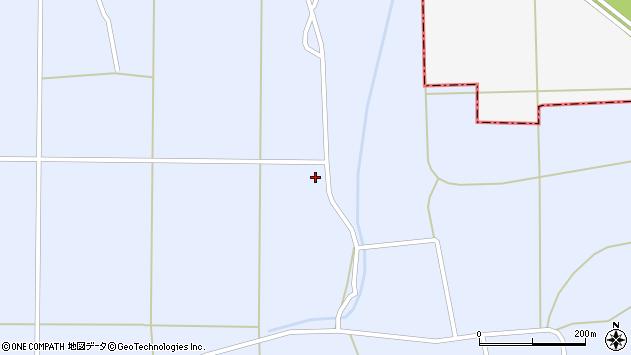 山形県東置賜郡川西町洲島2081周辺の地図