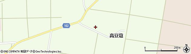 山形県東置賜郡川西町高豆蒄337周辺の地図