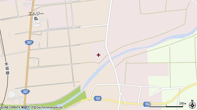山形県東置賜郡川西町小松470周辺の地図