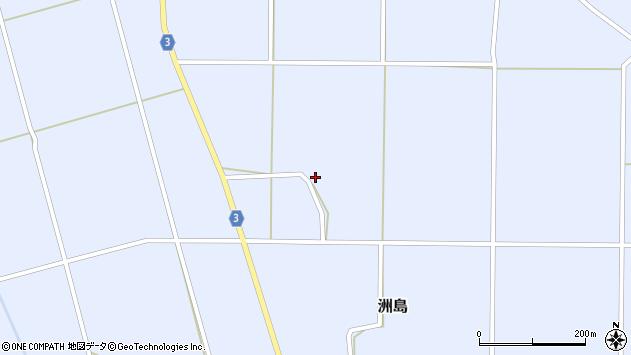 山形県東置賜郡川西町洲島3018周辺の地図