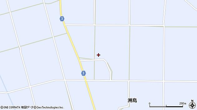 山形県東置賜郡川西町洲島3347周辺の地図