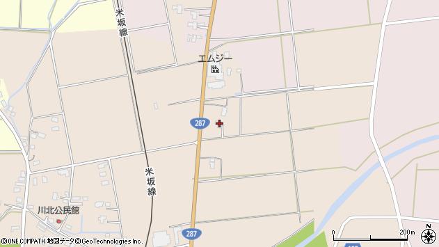 山形県東置賜郡川西町中小松2193周辺の地図