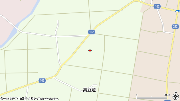 山形県東置賜郡川西町高豆蒄419周辺の地図