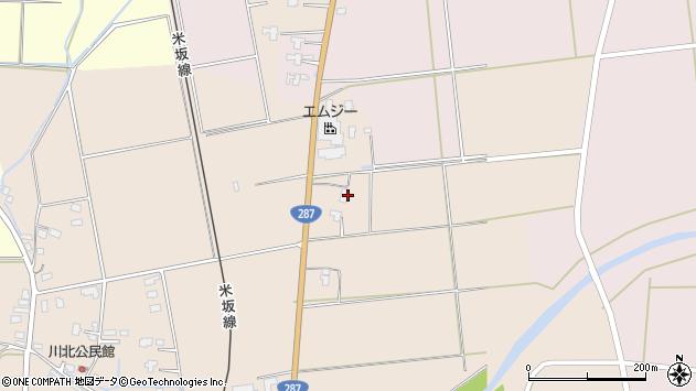 山形県東置賜郡川西町中小松2195周辺の地図
