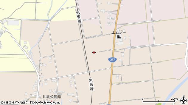 山形県東置賜郡川西町中小松2123周辺の地図