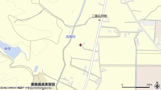 山形県東置賜郡川西町下小松463周辺の地図