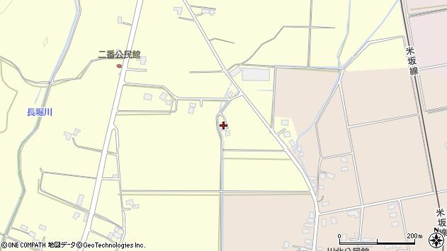 山形県東置賜郡川西町下小松412周辺の地図
