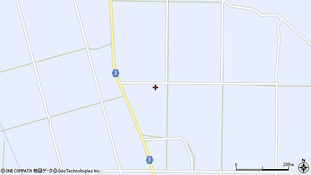 山形県東置賜郡川西町洲島3354周辺の地図