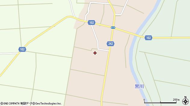 山形県東置賜郡川西町黒川872周辺の地図