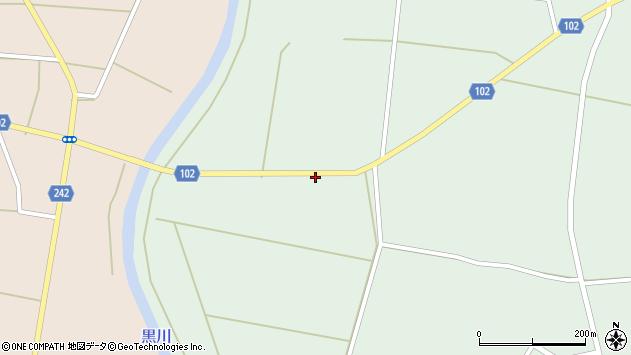 山形県東置賜郡川西町高山1287周辺の地図