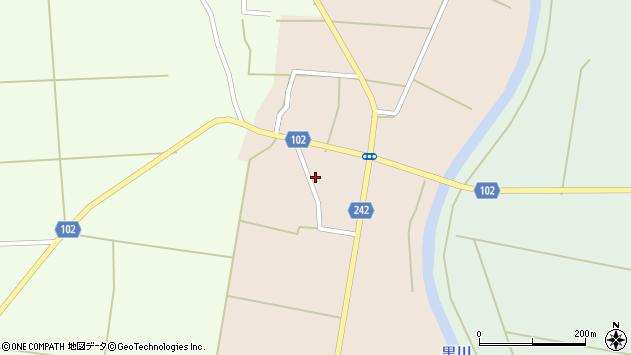 山形県東置賜郡川西町黒川1085周辺の地図