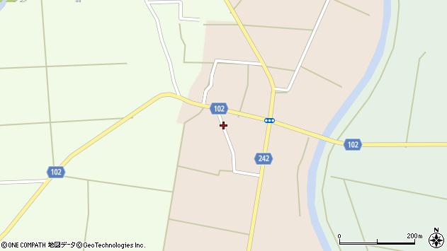 山形県東置賜郡川西町黒川1089周辺の地図
