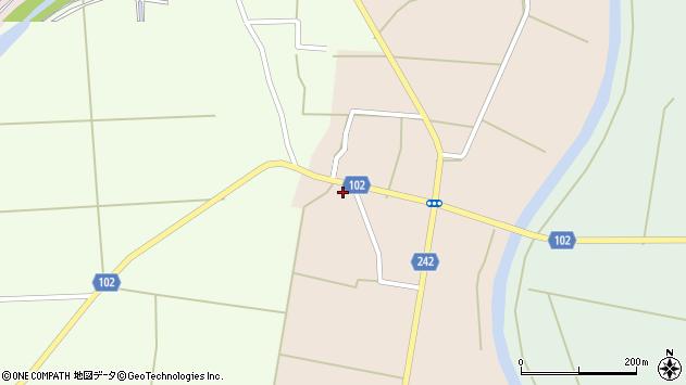山形県東置賜郡川西町黒川844周辺の地図