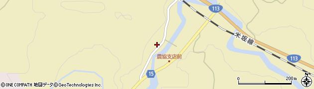 山形県西置賜郡小国町沼沢635周辺の地図