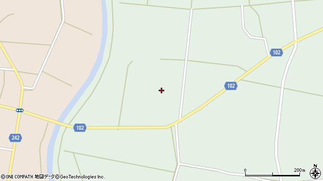 山形県東置賜郡川西町高山2371周辺の地図