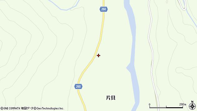 山形県西置賜郡小国町片貝369周辺の地図
