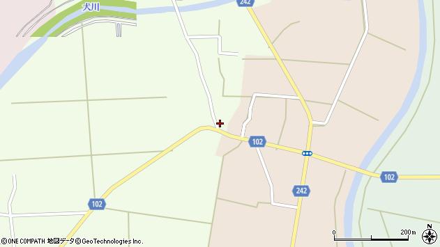 山形県東置賜郡川西町高豆蒄716周辺の地図