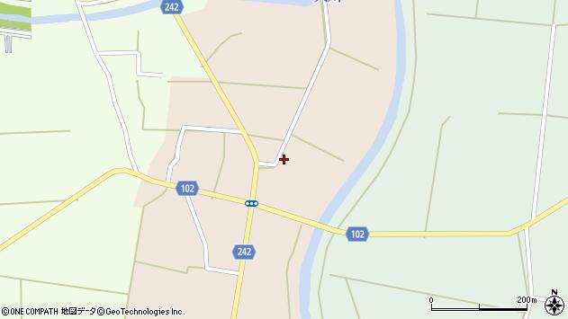山形県東置賜郡川西町黒川1197周辺の地図