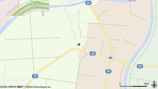 山形県東置賜郡川西町高豆蒄668周辺の地図