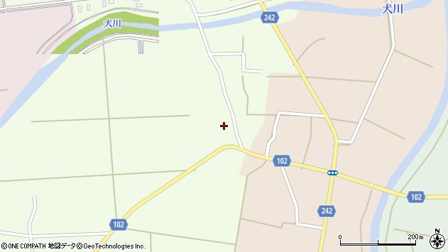 山形県東置賜郡川西町高豆蒄673周辺の地図