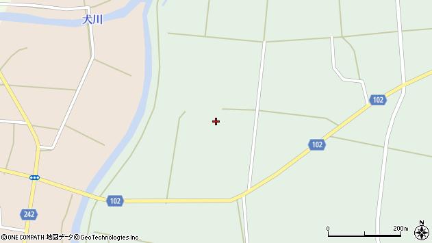 山形県東置賜郡川西町高山馬場周辺の地図