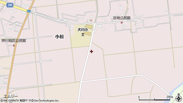 山形県東置賜郡川西町小松614周辺の地図