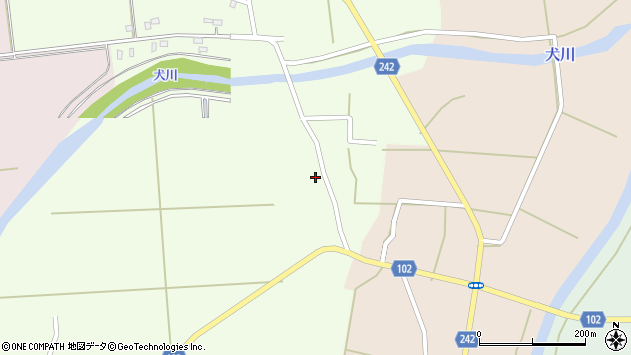 山形県東置賜郡川西町高豆蒄689周辺の地図