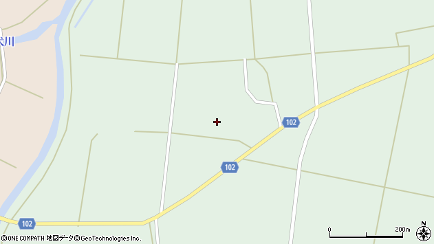 山形県東置賜郡川西町高山2885周辺の地図