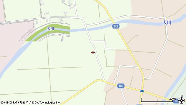 山形県東置賜郡川西町高豆蒄698周辺の地図