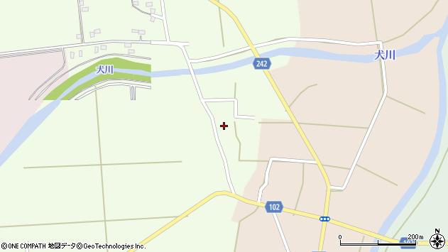 山形県東置賜郡川西町高豆蒄700周辺の地図