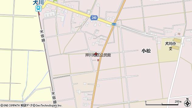 山形県東置賜郡川西町小松1943周辺の地図