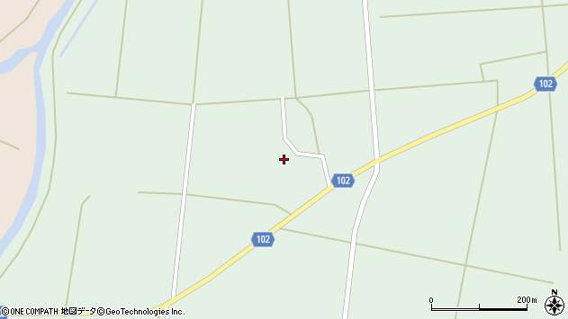 山形県東置賜郡川西町高山2869周辺の地図