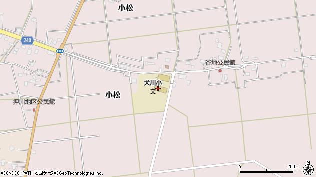 山形県東置賜郡川西町小松823周辺の地図