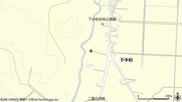 山形県東置賜郡川西町下小松620周辺の地図