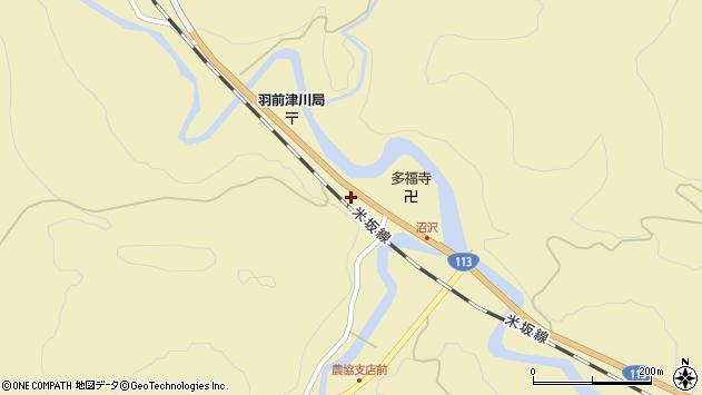 山形県西置賜郡小国町沼沢738周辺の地図