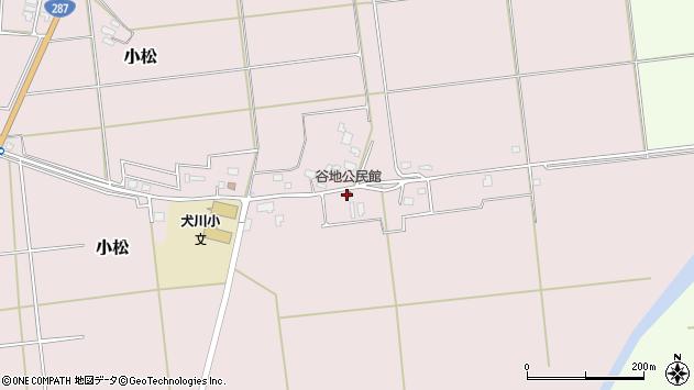 山形県東置賜郡川西町小松800周辺の地図