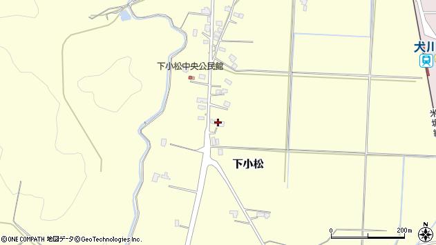 山形県東置賜郡川西町下小松679周辺の地図
