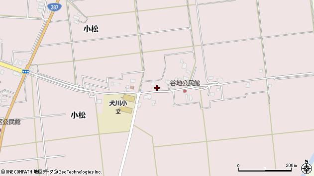 山形県東置賜郡川西町小松815周辺の地図
