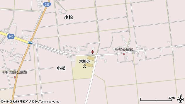山形県東置賜郡川西町小松864周辺の地図