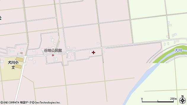 山形県東置賜郡川西町小松968周辺の地図