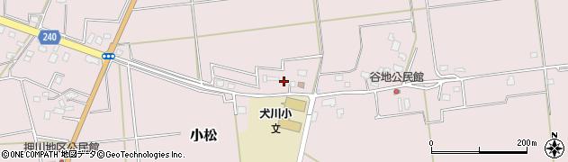 山形県東置賜郡川西町小松881周辺の地図