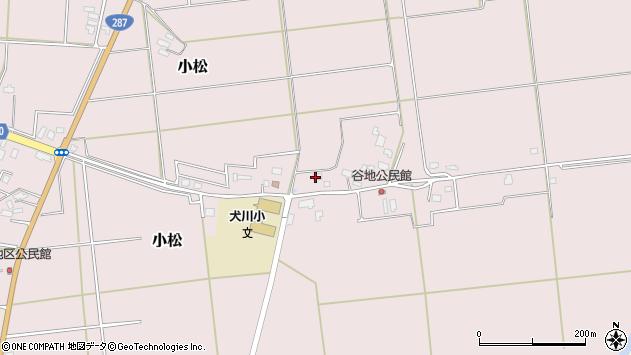 山形県東置賜郡川西町小松1368周辺の地図
