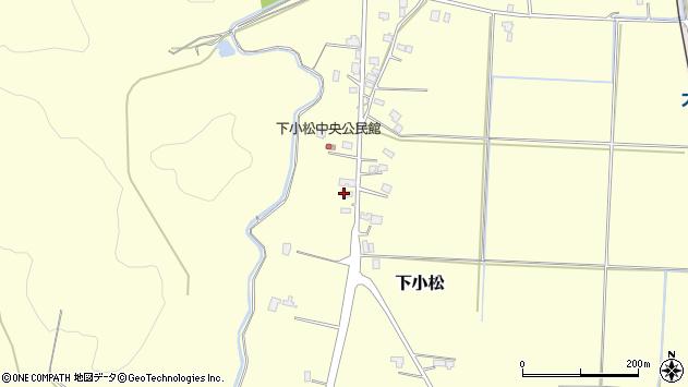 山形県東置賜郡川西町下小松631周辺の地図