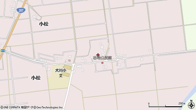 山形県東置賜郡川西町小松893周辺の地図