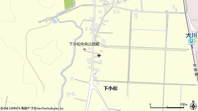 山形県東置賜郡川西町下小松684周辺の地図