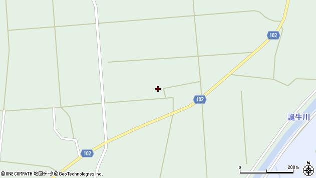 山形県東置賜郡川西町高山荒屋敷周辺の地図