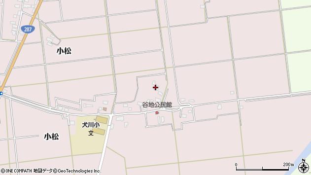 山形県東置賜郡川西町小松903周辺の地図