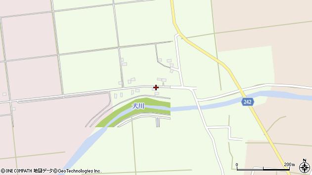 山形県東置賜郡川西町高豆蒄1190周辺の地図