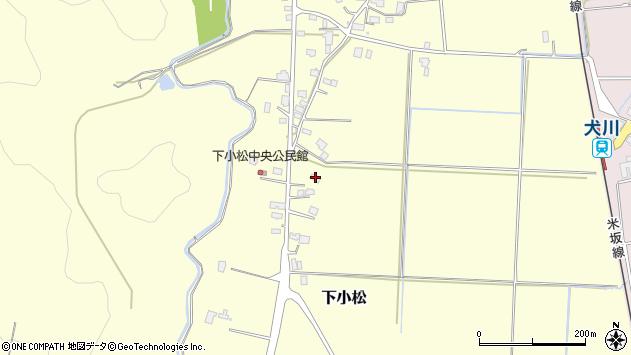 山形県東置賜郡川西町下小松700周辺の地図