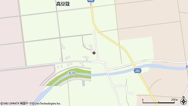 山形県東置賜郡川西町高豆蒄1290周辺の地図